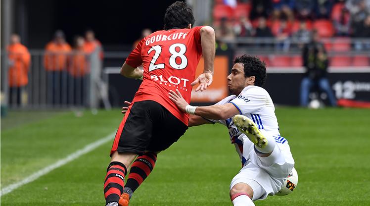 Rennes Olympique Lyon maç özeti