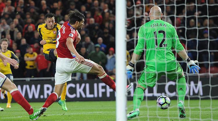 Middlesbrough Arsenal maç özeti