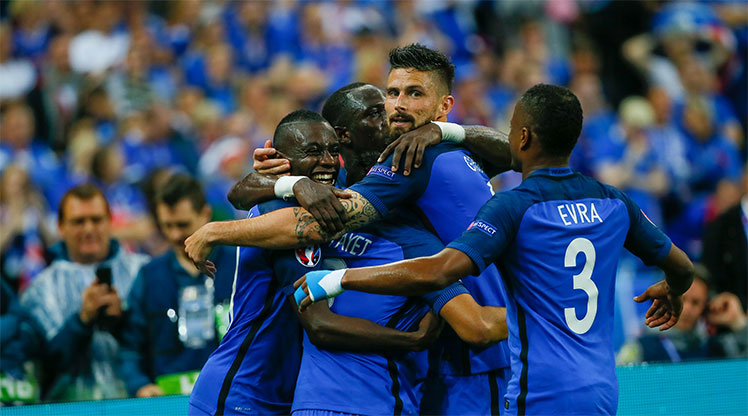 Fransa İzlanda maç özeti