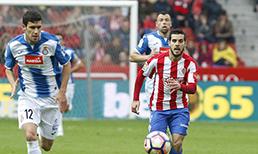 Sporting Gijon Espanyol maç özeti