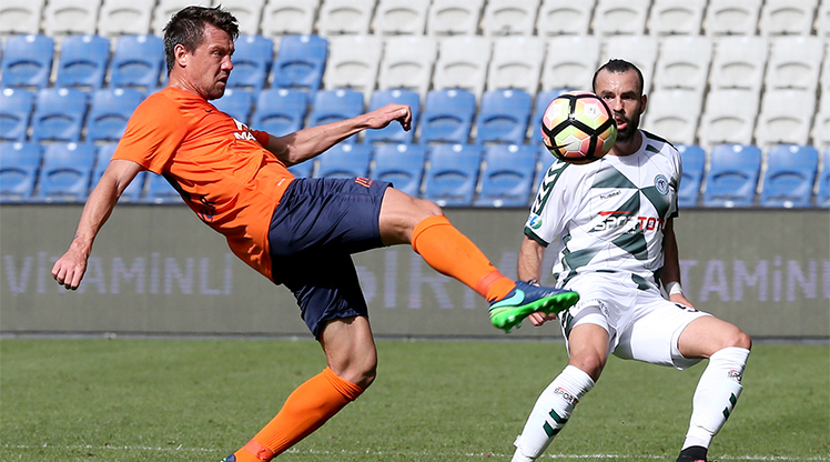Medipol Başakşehir Atiker Konyaspor maç özeti