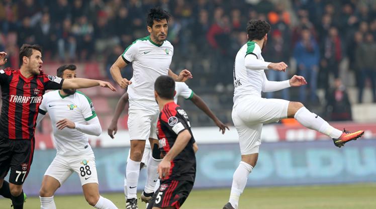 Gaziantepspor Akhisar Bld.Spor maç özeti
