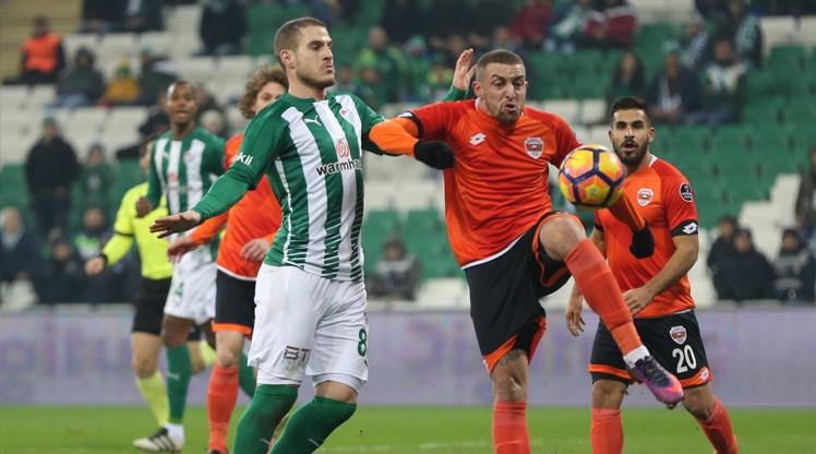 Bursaspor Adanaspor maç özeti