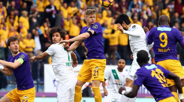 Osmanlıspor FK Bursaspor maç özeti