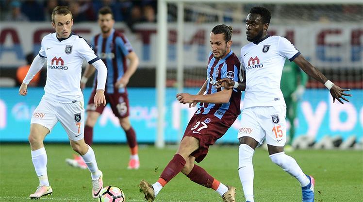 Trabzonspor Medipol Başakşehir maç özeti