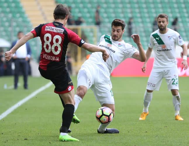 Bursaspor Gençlerbirliği maç özeti