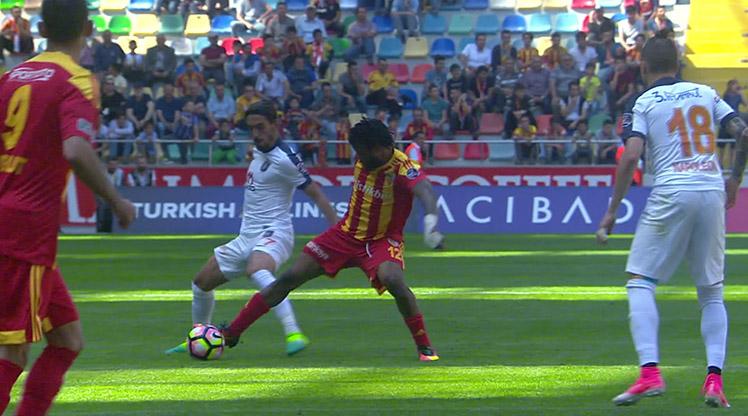 Kayserispor Medipol Başakşehir maç özeti