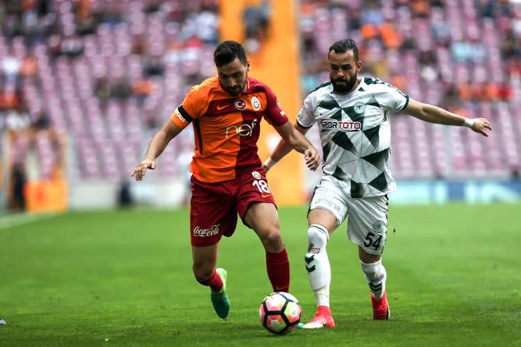 Galatasaray Atiker Konyaspor maç özeti