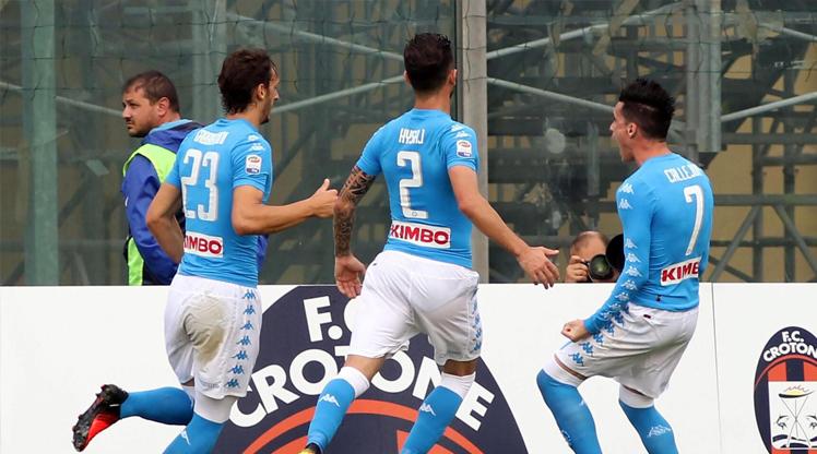 Crotone Napoli maç özeti