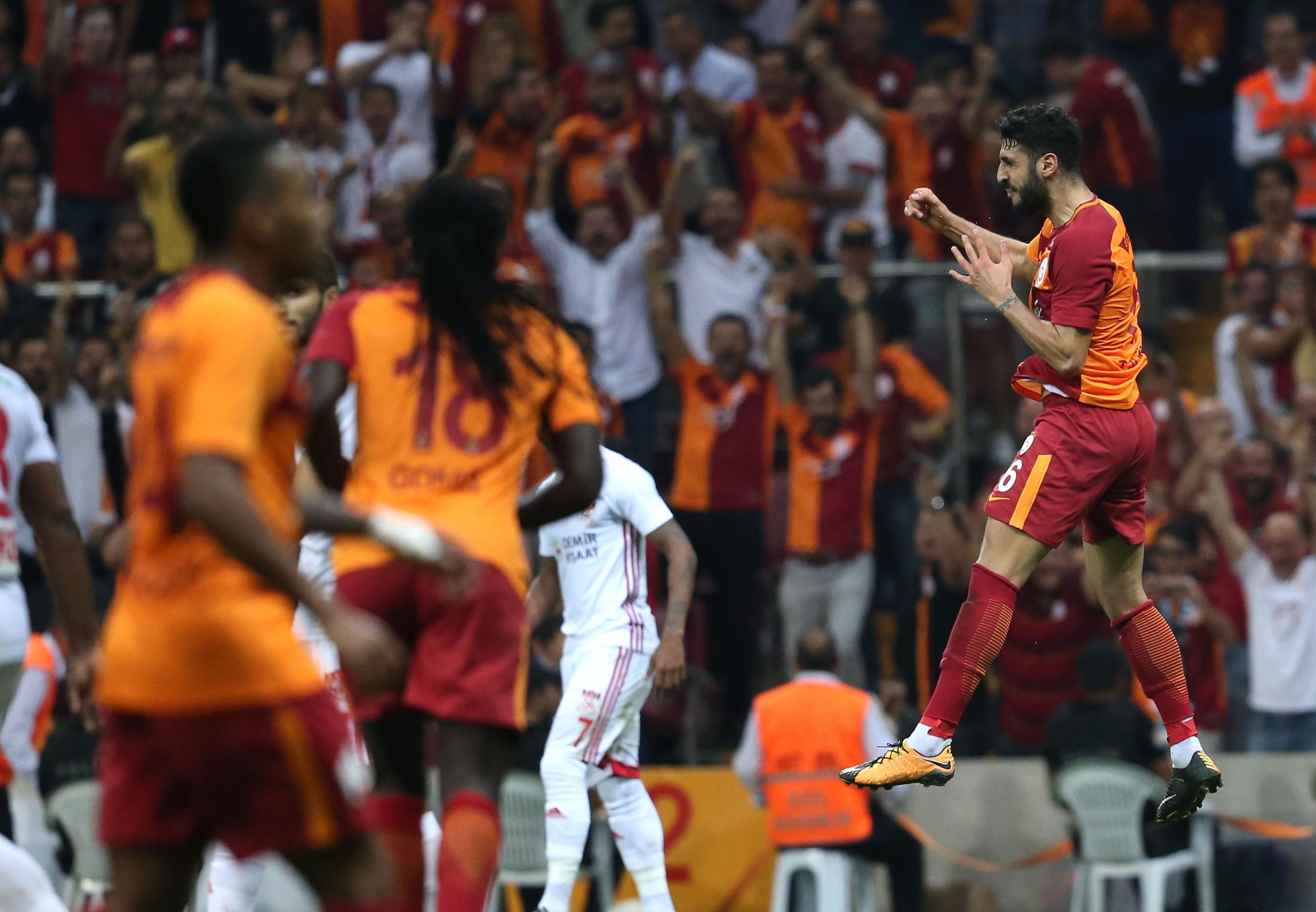 Galatasaray Demir Grup Sivasspor maç özeti