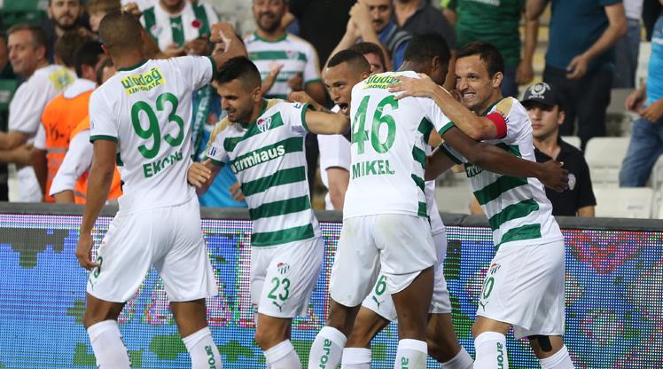 Bursaspor Teleset Mob. Akhisarspor maç özeti