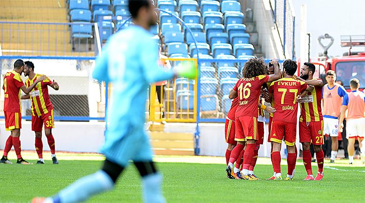 Kardemir Karabükspor Evkur Yeni Malatyaspor maç özeti