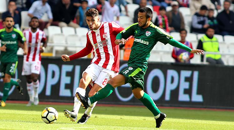Demir Grup Sivasspor Bursaspor maç özeti