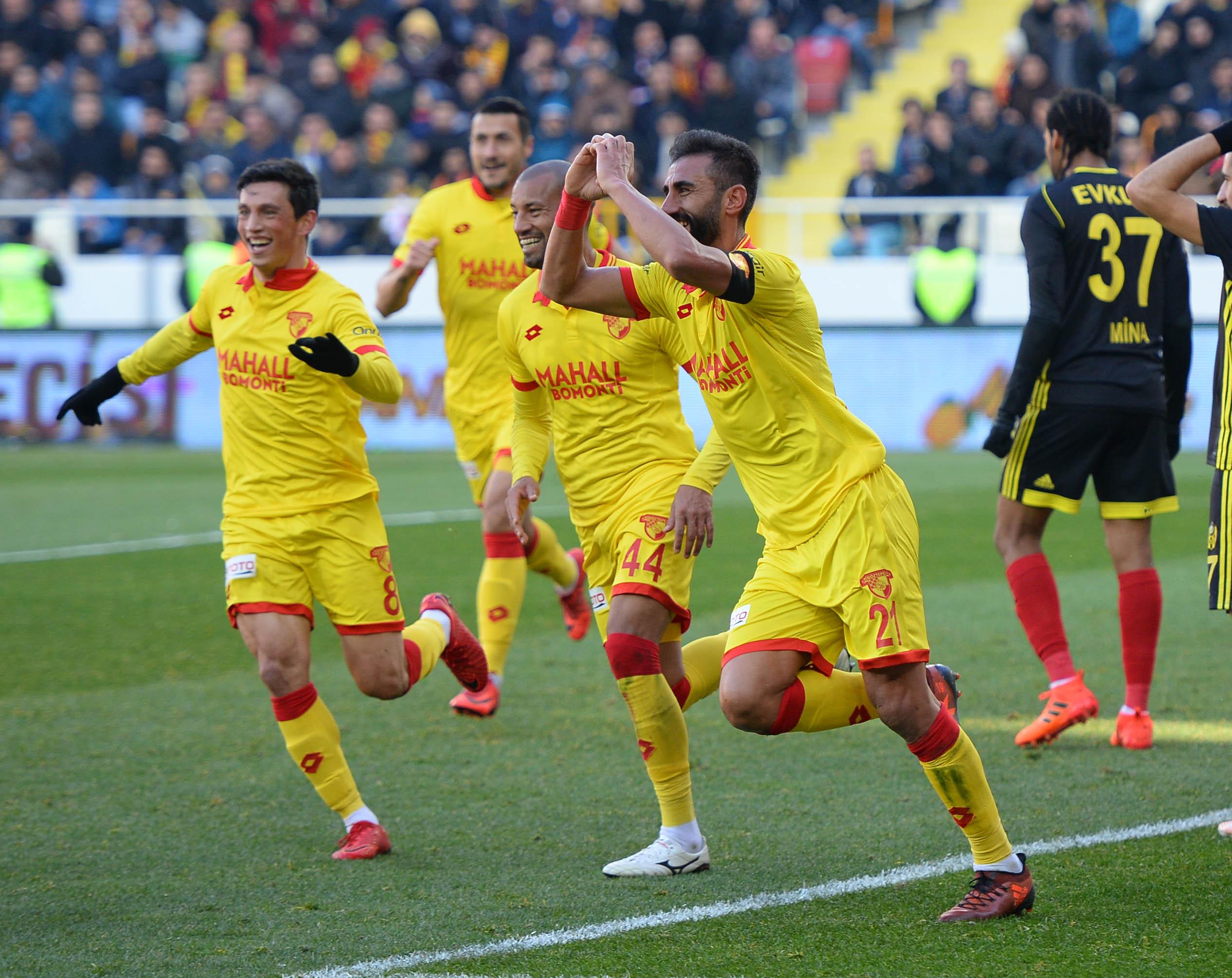 Evkur Yeni Malatyaspor Göztepe maç özeti