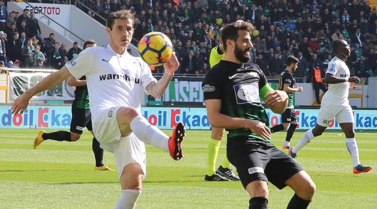 Teleset Mob. Akhisarspor Bursaspor maç özeti