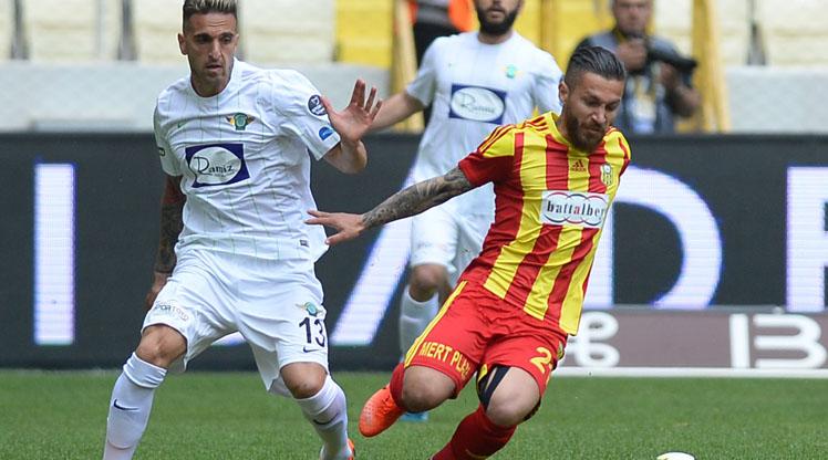 Evkur Yeni Malatyaspor Teleset Mob. Akhisarspor maç özeti