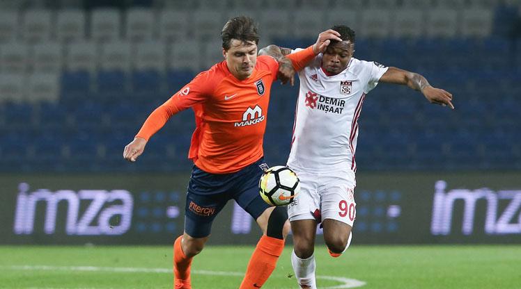 Medipol Başakşehir Demir Grup Sivasspor maç özeti