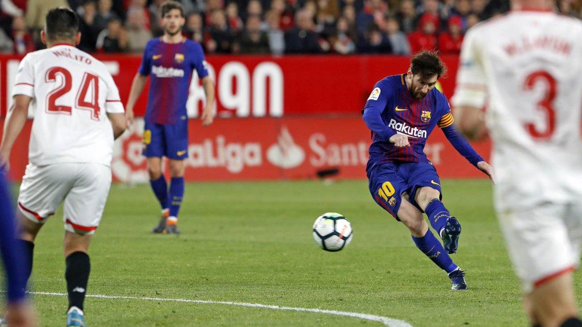 Sevilla Barcelona maç özeti