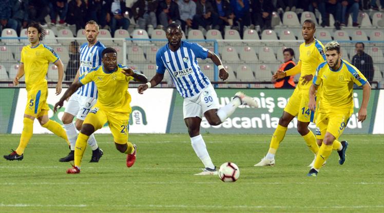 BŞB Erzurumspor MKE Ankaragücü maç özeti