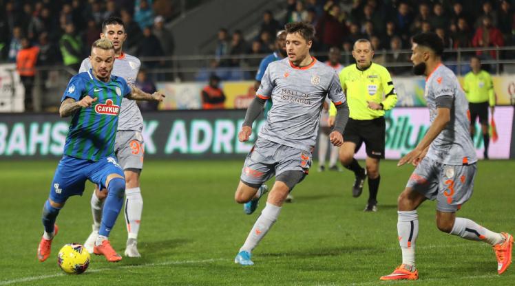 Çaykur Rizespor Medipol Başakşehir maç özeti