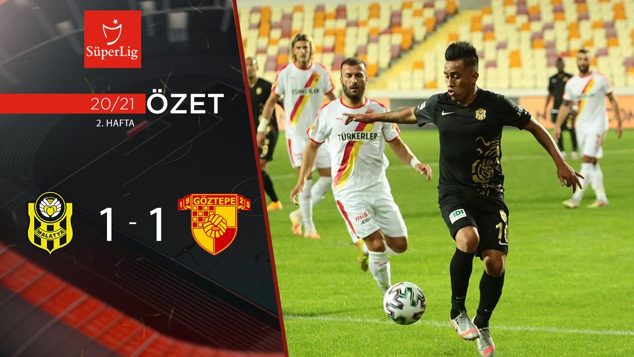 Yeni Malatyaspor Göztepe maç özeti