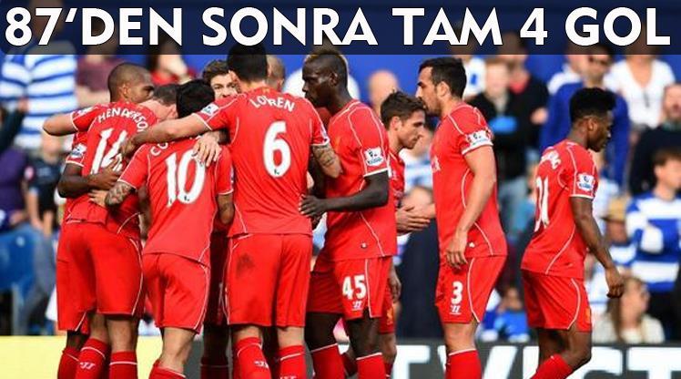 Queens Park Rangers Liverpool maç özeti