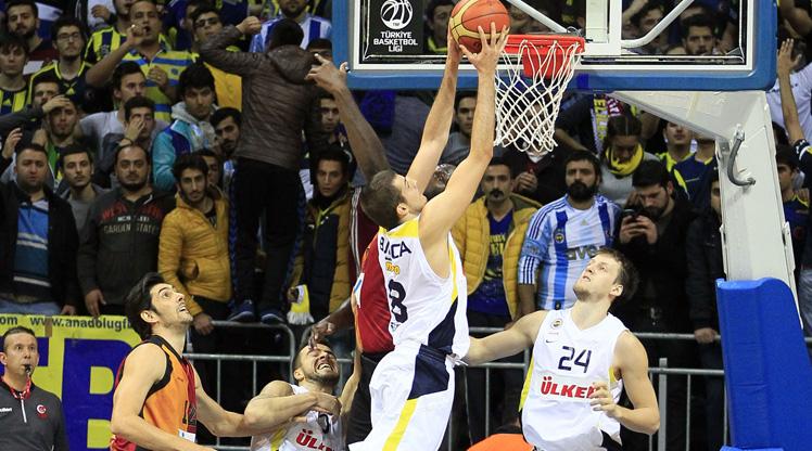 Fenerbahçe Ülker Galatasaray Liv H. maç özeti