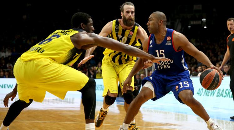 Anadolu Efes Fenerbahçe maç özeti