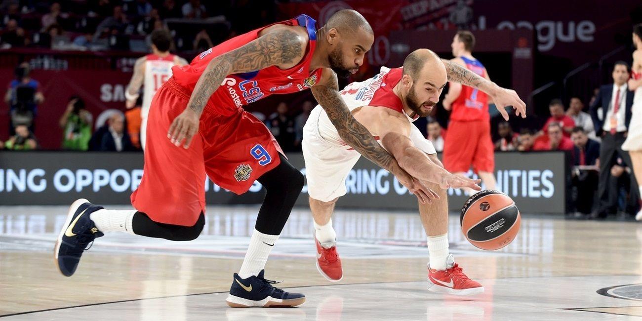 CSKA Moskova Olympiakos maç özeti