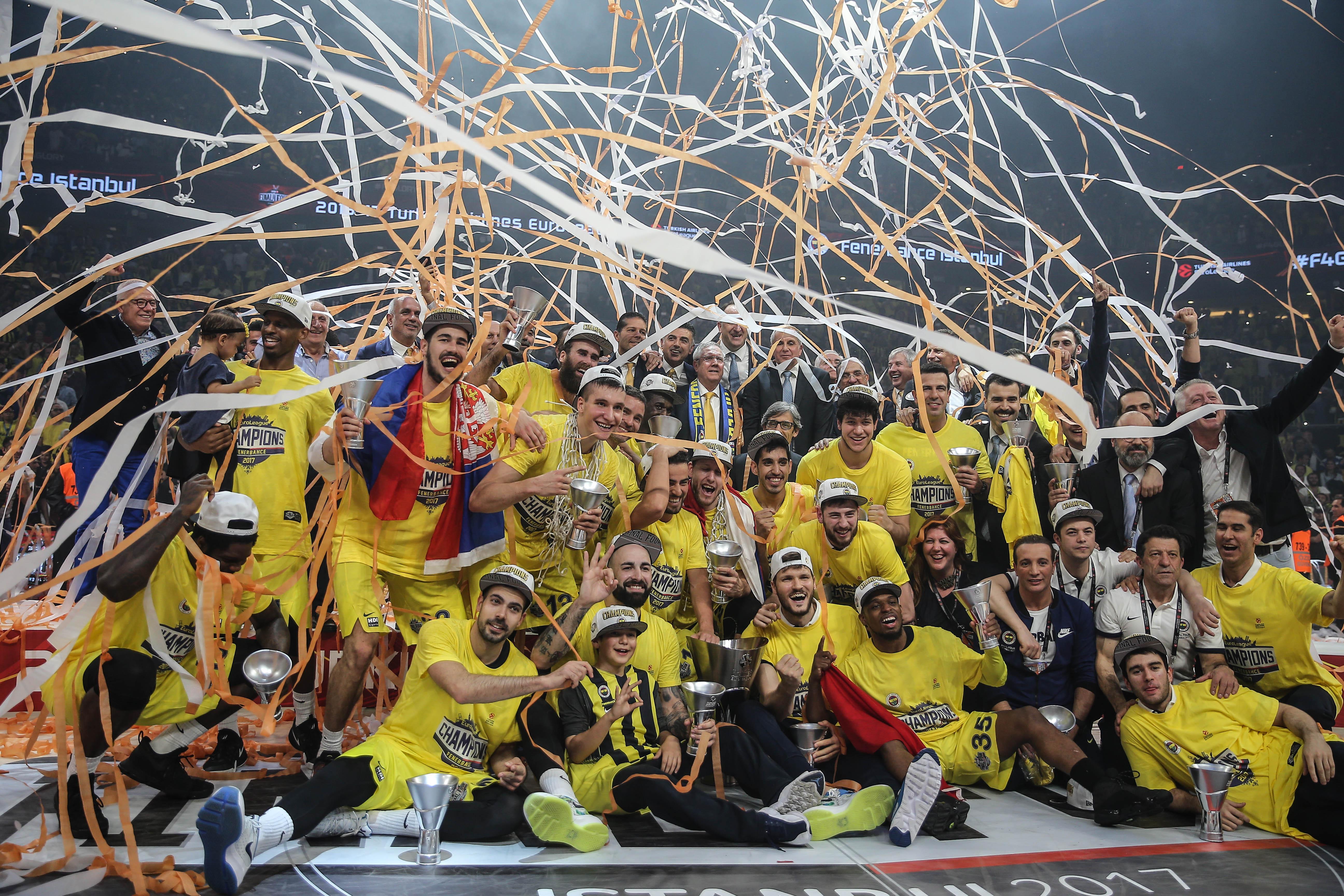 Fenerbahçe Doğuş Olympiakos maç özeti