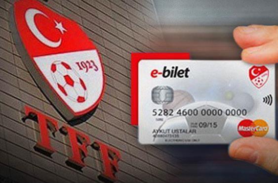 TFF'den E-Bilet açıklaması