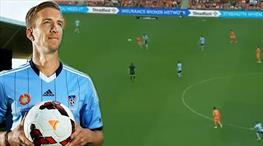 Janko'dan muhteşem bir gol