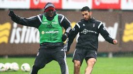 Beşiktaş taktik çalıştı