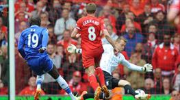 Liverpool'un hayallerini Demba Ba yıkmıştı!