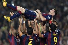 Barça 5'ledi, Messi tarihe geçti!