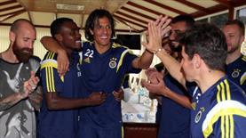 Bruno Alves'e sürpriz kutlama