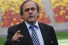 Real Platini'ye öfkeli!