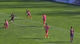 Barca'lı yıldızdan Messi golü!