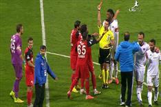Maç bitti, kırmızı çıktı!