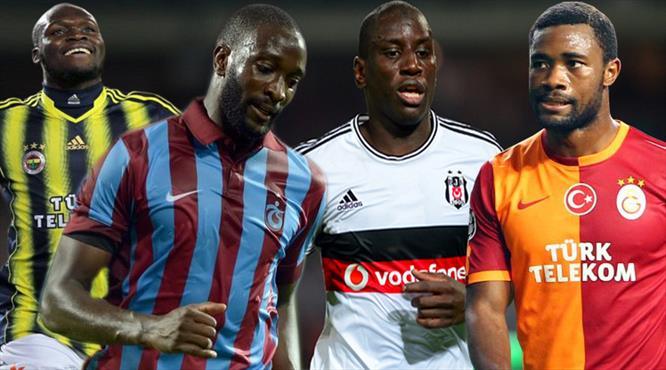Süper Lig'de Afrika depremi!