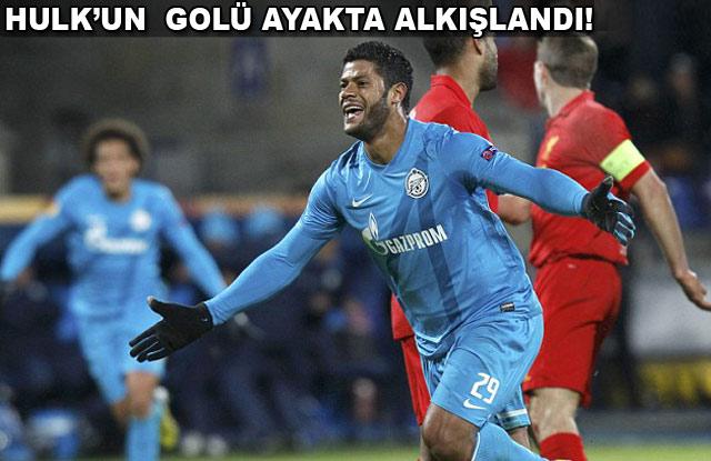 Zenit'in gol şovu yetmedi! (ÖZET)