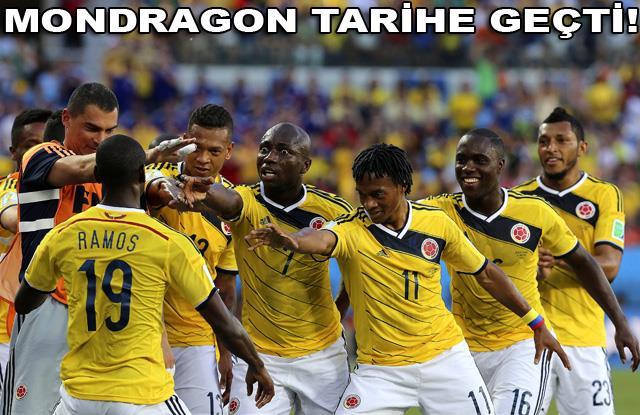 Kolombiya'yı tutana aşk olsun!