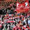 Anfield'ta manzara yine muhteşem