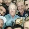 Aziz Yıldırım'lı kupa 'selfie'si!