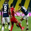 Diego'nun penaltı beklediği an