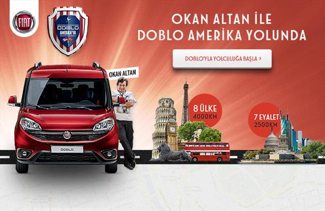 Okan Altan ile Doblo Amerika'ya!