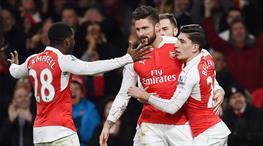 Arsenal zirveye bir adım daha yaklaştı (ÖZET)