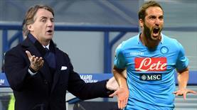 Mancini bu golle yıkıldı!