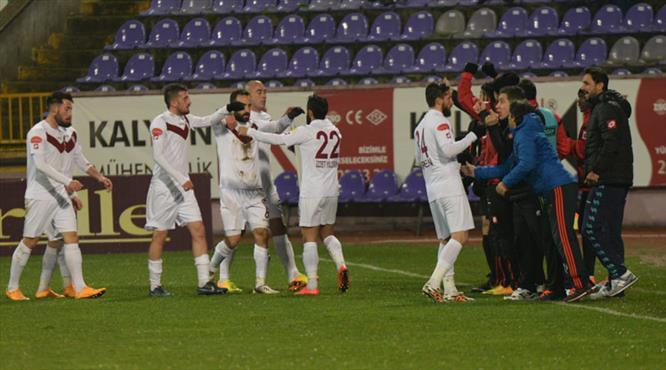 Elazığ gol oldu yağdı: 1-6!