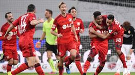 Leverkusen 4'leri yaktı geliyor!
